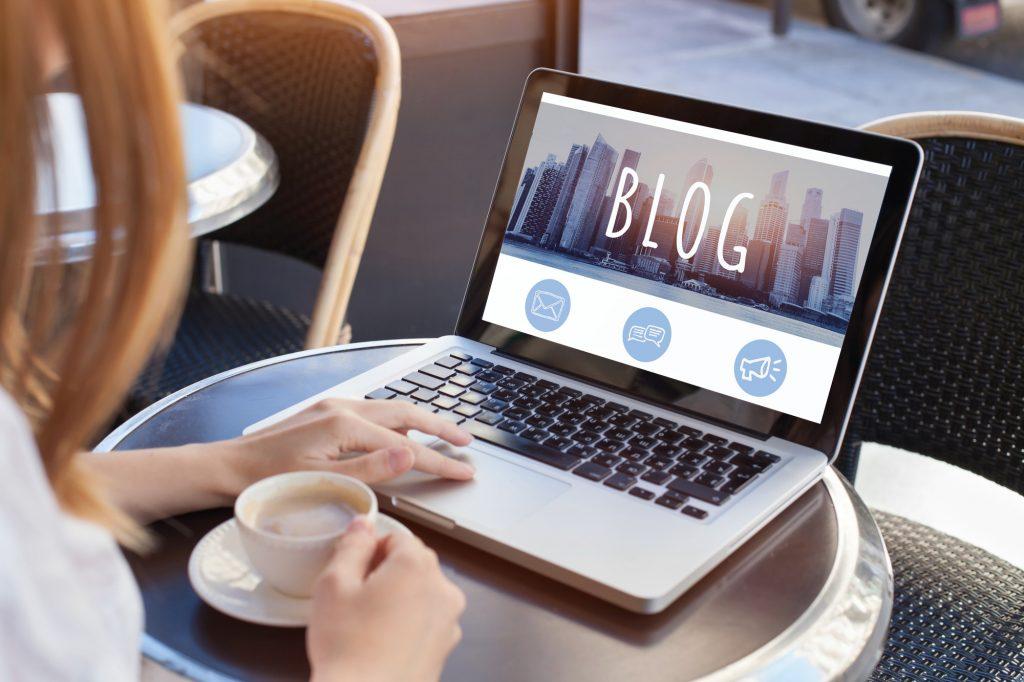 representing blog marketing